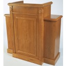 Wood Stain Wing Pulpit